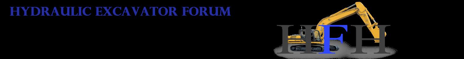 Hydraulic Forum / Hydraulic Excavator Forum